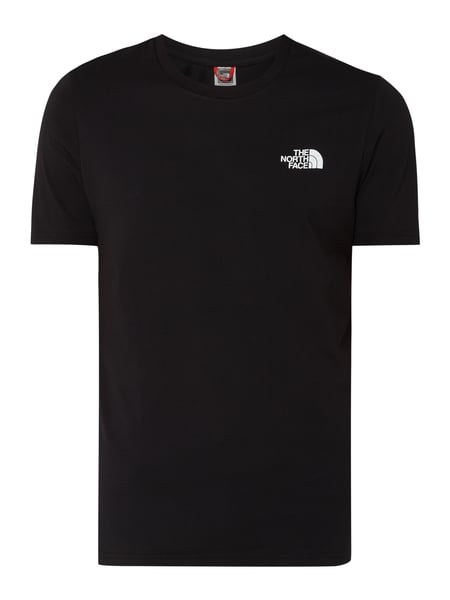 The North Face T-Shirt mit Logo-Print Schwarz - 1