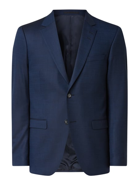 Tiger Of Sweden Slim Fit 2-Knopf-Sakko mit Stretch-Anteil Modell 'Jamonte' Blau - 1