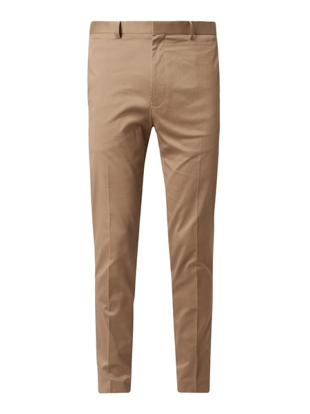 Tiger Of Sweden Slim fit pantalon van katoen Beige - 1