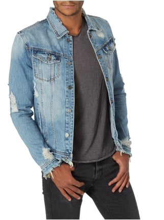 Tigha Jeansjacke im Destroyed Look Jeans - 1