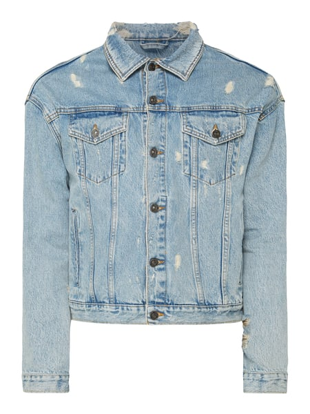 online store 2dbb8 f56a2 Tigha – Jeansjacke im Destroyed Look – Jeans