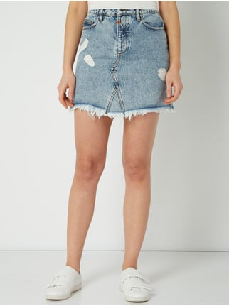 6a838802dcfd Tigha Jeansrock im Destroyed Look