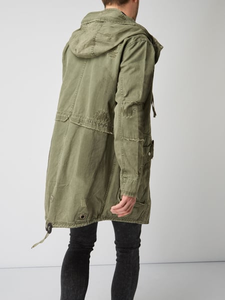 new product e2a54 bd2f5 Parka im Used Look