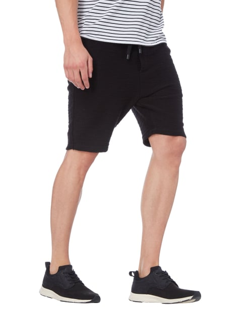 Tigha Sweatshorts im Inside-Out-Look Schwarz - 1
