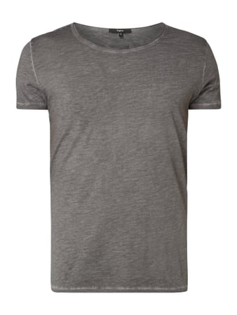 Tigha T-Shirt im Vintage Look Grau - 1