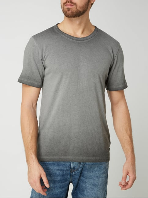 T Shirt im Washed Out Look Modell 'Lafan'