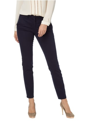 Tom Tailor Chino mit Stretch-Anteil Marineblau - 1
