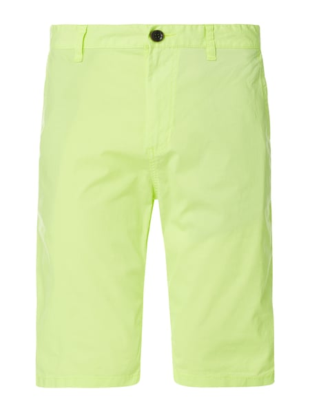 Tom Tailor Chino-Shorts aus Baumwoll-Elasthan-Mix Gelb - 1