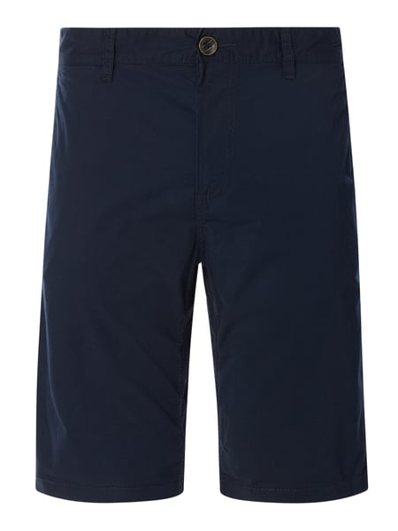 Tom Tailor Chino-Shorts aus Baumwoll-Elasthan-Mix Blau - 1