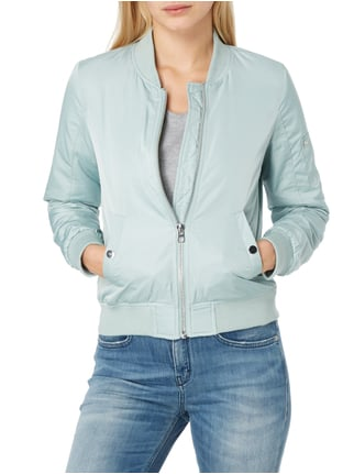 Tom Tailor Denim Bomber mit Ärmeltasche Mint - 1