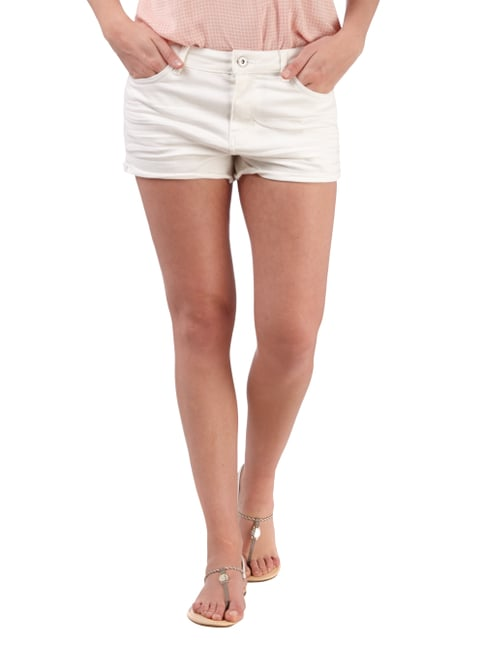 Tom Tailor Denim Coloured Jeansshorts Weiß - 1