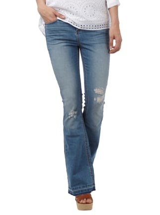 Tom Tailor Denim Flared Cut Jeans im Destroyed Look Jeans - 1