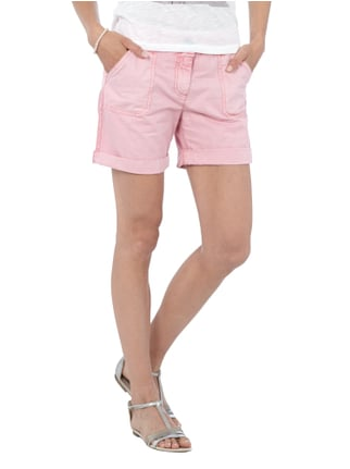 Tom Tailor Denim Shorts aus reiner Baumwolle Altrosa - 1