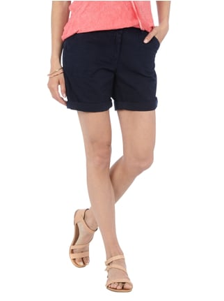 Tom Tailor Denim Shorts aus reiner Baumwolle Dunkelblau - 1