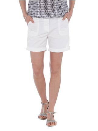 Tom Tailor Denim Shorts aus reiner Baumwolle Offwhite - 1