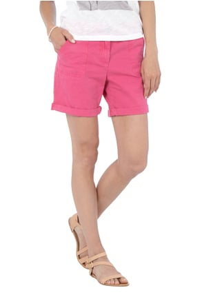 Tom Tailor Denim Shorts aus reiner Baumwolle Pink - 1