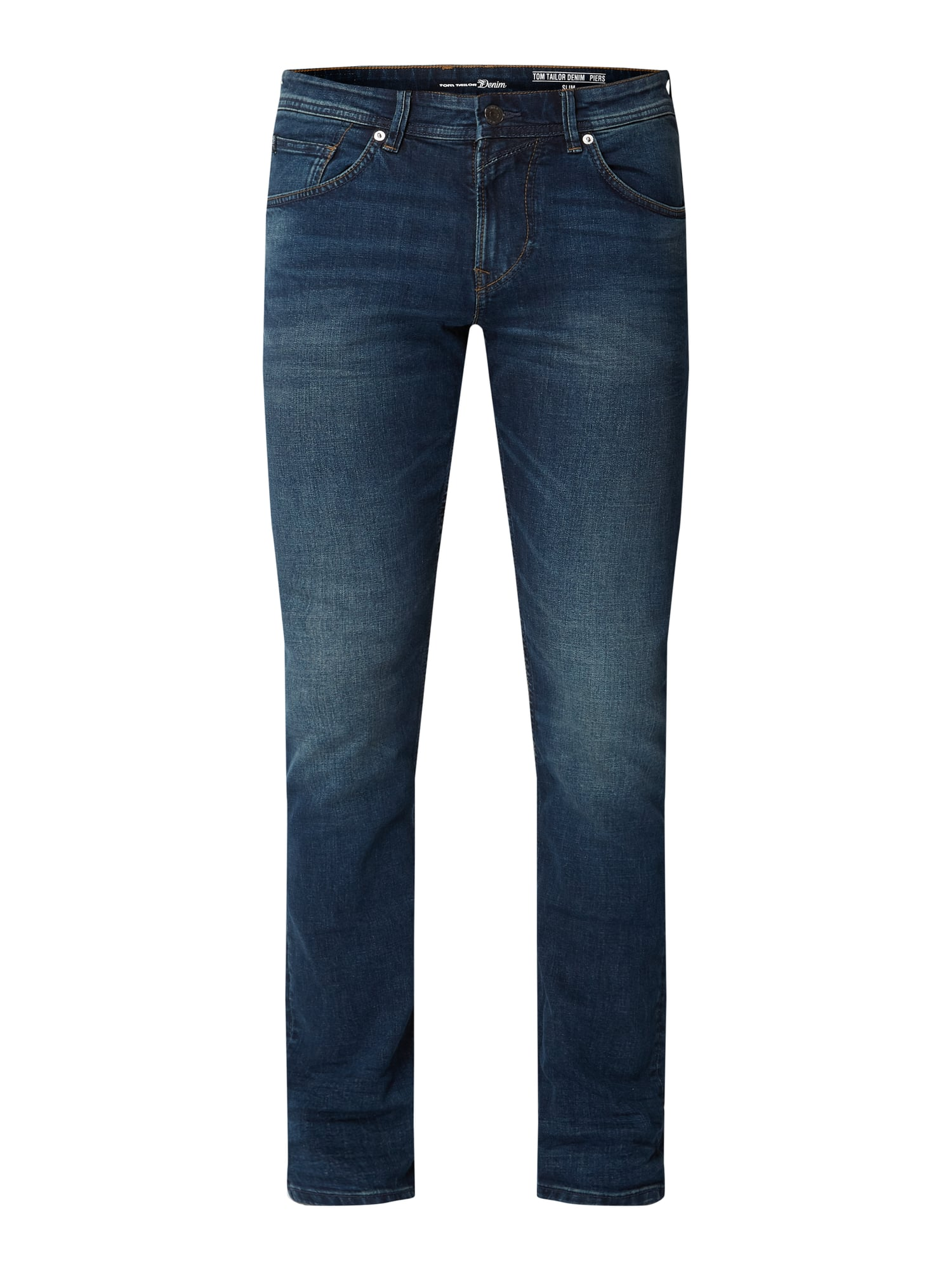 nice cheap factory outlets cheapest price TOM-TAILOR-DENIM Slim Fit Jeans in Blau / Türkis online kaufen (1028083) ▷  P&C Online Shop