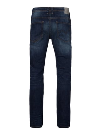 Tom Tailor Denim Stone Washed Super Slim Fit 5-Pocket-Jeans Royalblau - 1