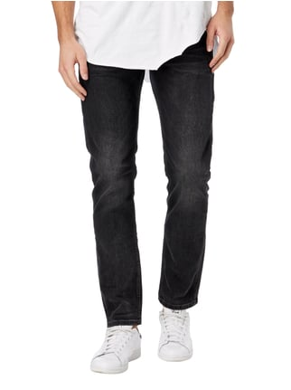 Tom Tailor Denim Stone Washed Super Slim Fit Jeans Schwarz - 1