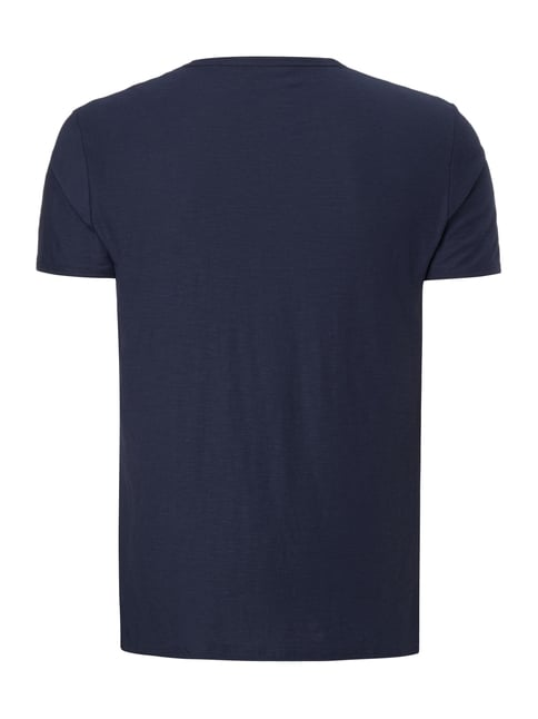 Tom Tailor Denim T-Shirt mit Logo-Print Dunkelblau - 1