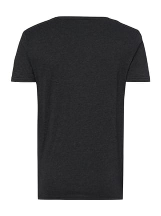 Tom Tailor Denim T-Shirt mit Logo-Print Schwarz - 1
