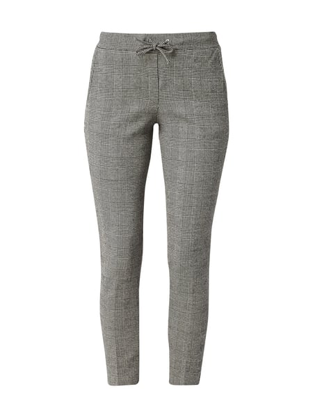 Tom Tailor Easy Pants mit Glencheck Grau / Schwarz - 1