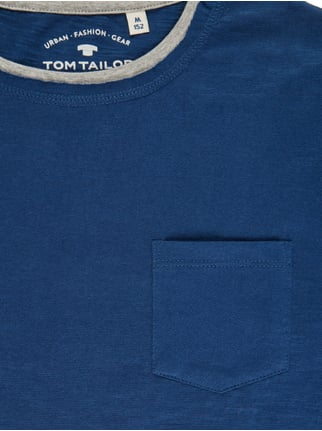 Fitted Longsleeve im Double-Layer-Look Tom Tailor online kaufen - 1