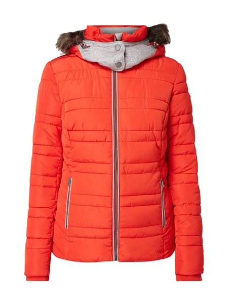 Tom Tailor Funktionsjacke mit abnehmbarer Kapuze Rot - 1