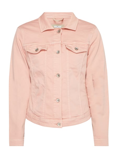 quality design 63afa 06668 Tom Tailor – Jeansjacke aus Coloured Denim – Rosa