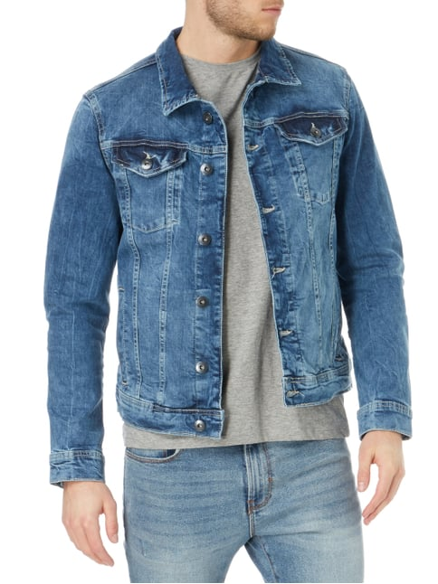 Tom Tailor Jeansjacke im Stone Washed Look Jeans - 1
