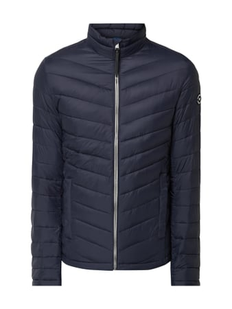 Tom Tailor Light-Steppjacke mit Stehkragen Blau / Türkis - 1