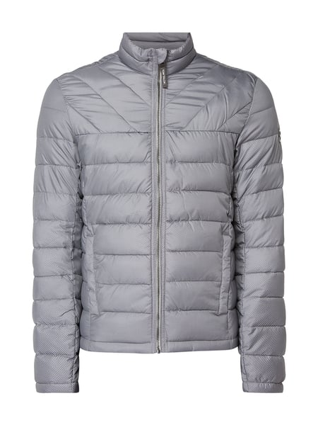 Tom Tailor Herren Light Steppjacke mit Stehkragen