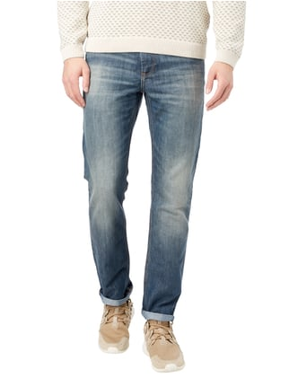 Tom Tailor Old Blue Washed Straight Fit Jeans Blau - 1