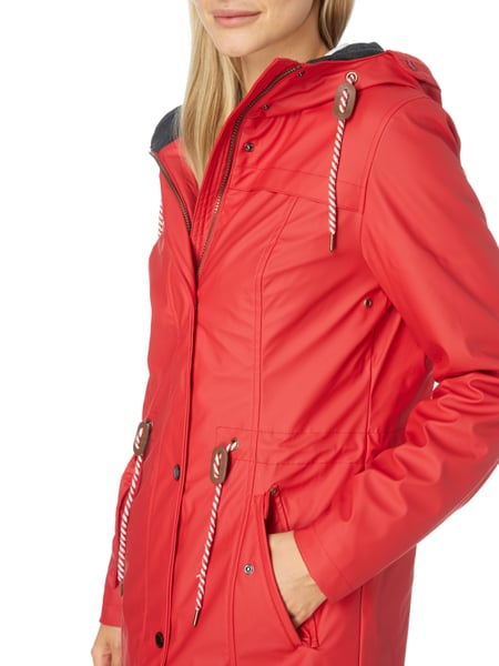 Tom tailor steppjacke damen rot