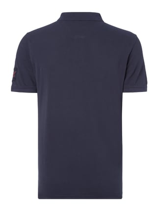 Tom Tailor Poloshirt im Washed Out Look Dunkelblau - 1