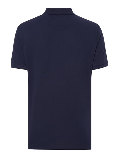 Tom Tailor Poloshirt mit Label-Stickerei Rauchblau - 1