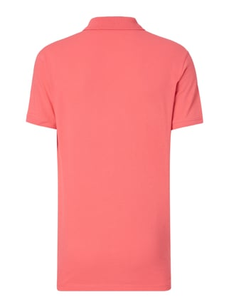 Tom Tailor Poloshirt mit Logo-Stickerei Fuchsia - 1