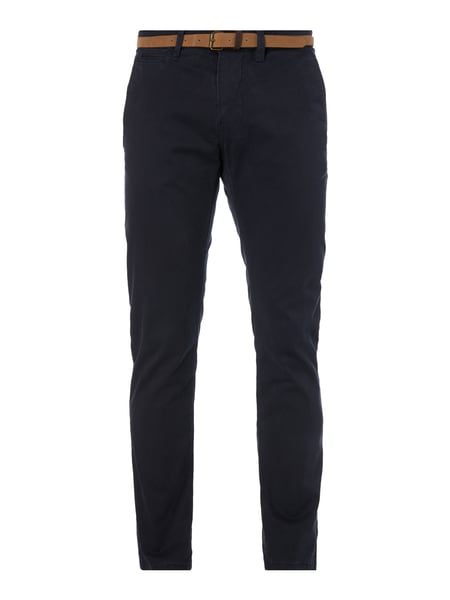 TOM-TAILOR Regular Fit Chino mit Gürtel in Blau   Türkis online ... 74d1af7a45