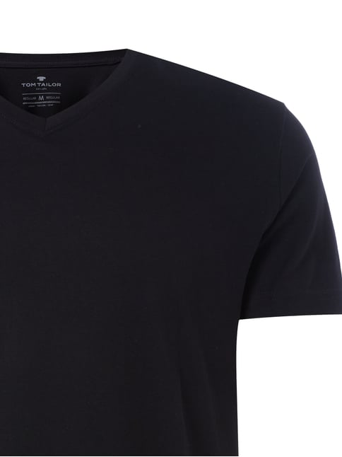 Regular Fit T-Shirt aus Baumwolle im 2er-Pack Tom Tailor online kaufen - 1