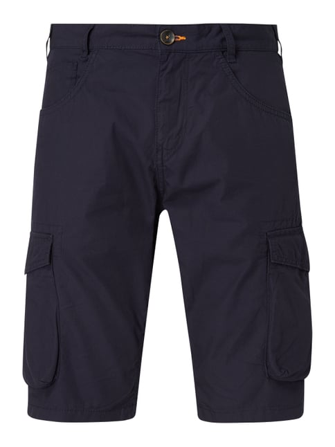 a6e7dc739c05bd Tom Tailor Regular Slim Fit Cargobermudas aus Baumwolle Blau - 1 ...