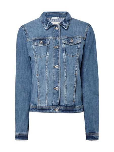Tom Tailor Rinsed Washed Jeansjacke mit Stretch-Anteil Jeans