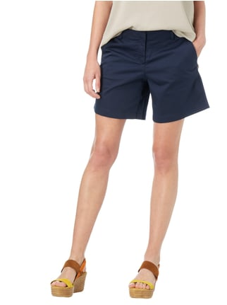 Tom Tailor Shorts mit Stretch-Anteil Marineblau - 1