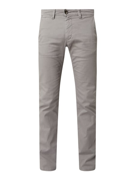 Tom Tailor Slim Fit Chino mit Stretch-Anteil Modell 'Travis' Grau - 1
