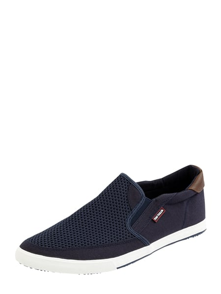 Tom Tailor Slip-On Sneaker aus Textil Blau - 1