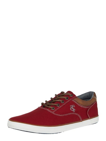 Tom Tailor Sneaker aus Canvas Rot - 1