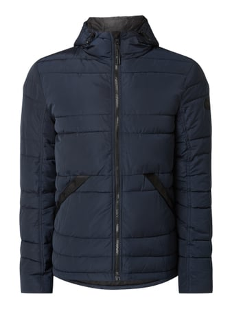Tom Tailor Steppjacke mit Kapuze Blau - 1