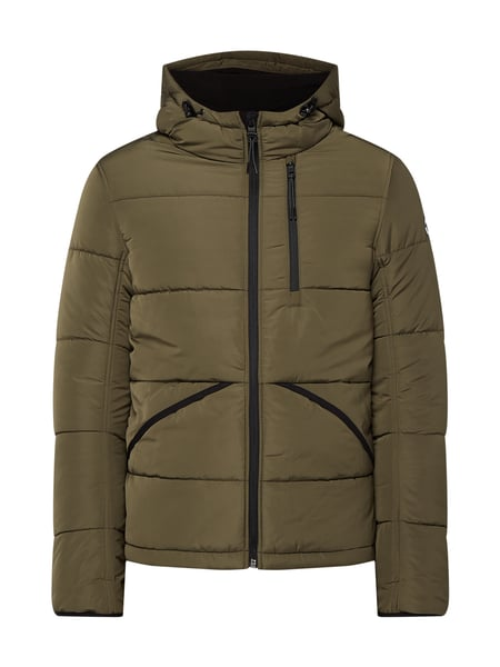 Tom Tailor Steppjacke mit Kapuze Grün - 1