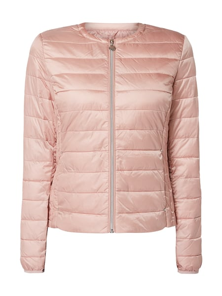 check out 358b7 58468 Tom Tailor – Steppjacke mit Wattierung – Rosa