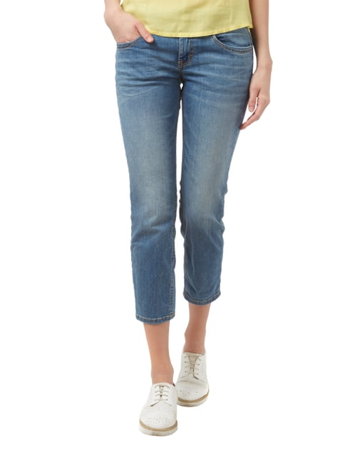 Tom Tailor Stone Washed Slim Fit Jeans in 7/8-Länge Jeans - 1