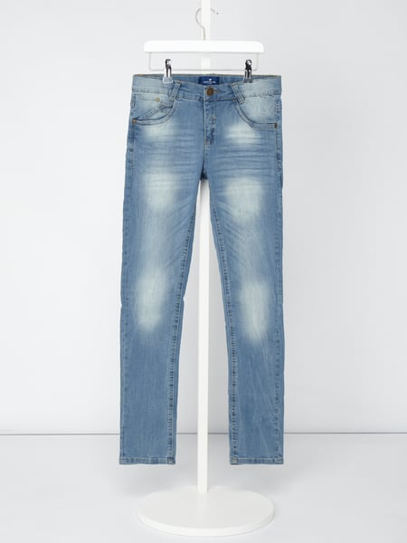 Tom Tailor Stone Washed Tight Fit Jeans Blau / Türkis - 1